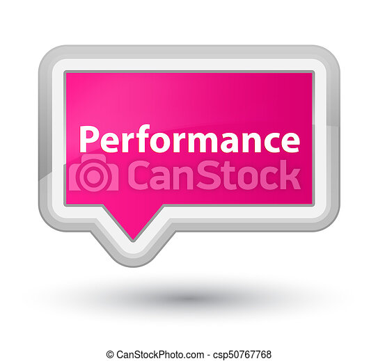 Performance prime pink banner button - csp50767768