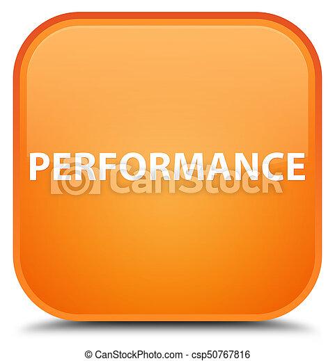 Performance special orange square button - csp50767816