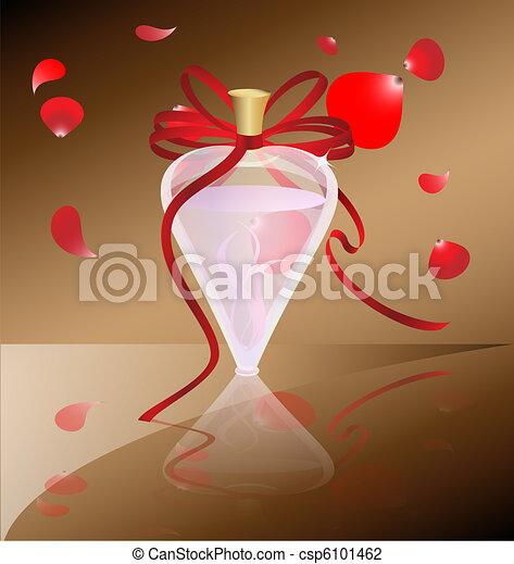 perfume and petals - csp6101462