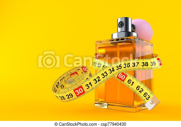 Perfume bottle with centimeter - csp77940430
