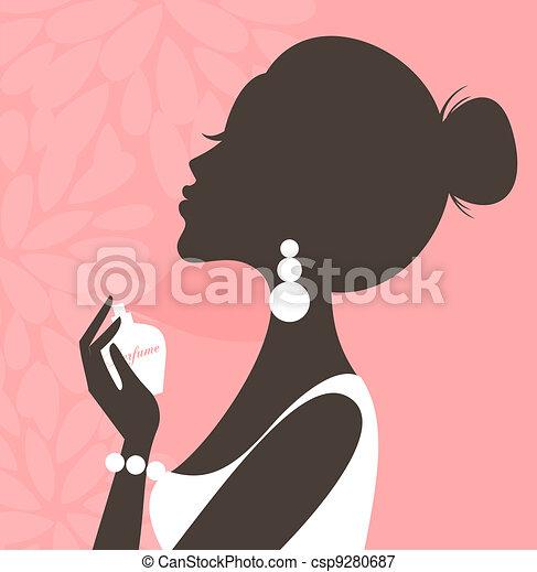 Perfume (Pink Series) - csp9280687