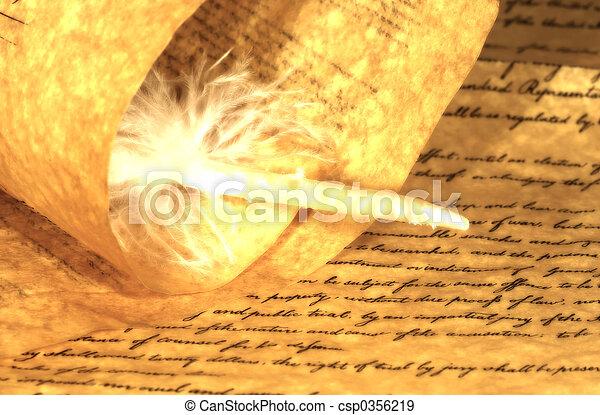 pergament - csp0356219