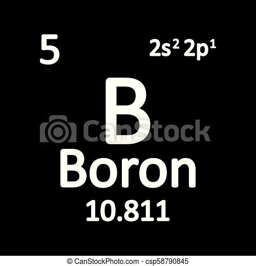 Periodic table element boron icon periodic table element boron icon periodic table element boron icon csp58790845 urtaz Images