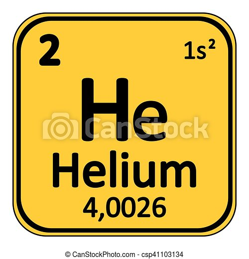 Periodic table element helium icon periodic table element periodic table element helium icon vector urtaz Choice Image