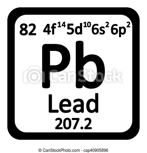 Periodic table element lead icon periodic table element eps periodic table element lead icon vector urtaz Gallery