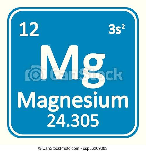 Periodic table element magnesium icon periodic table element periodic table element magnesium icon csp56209883 urtaz Images