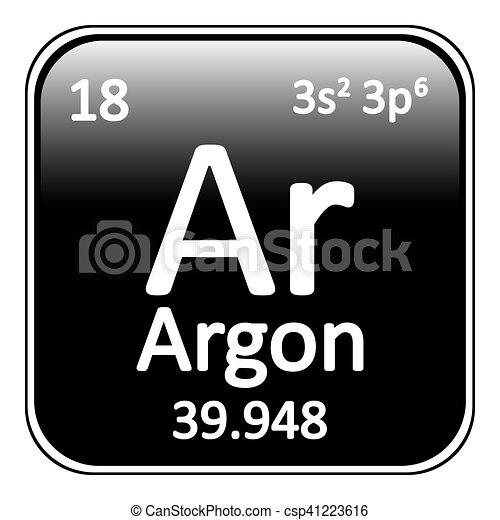 Periodic table element neon icon periodic table element vector periodic table element neon icon csp41223616 urtaz Gallery