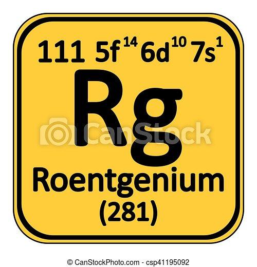periodic table element roentgenium icon periodic table eps rh canstockphoto com periodic table clip art free periodic table clipart