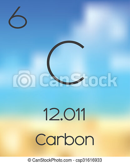 The Periodic Table Of The Elements Carbon Drawings Search Clipart