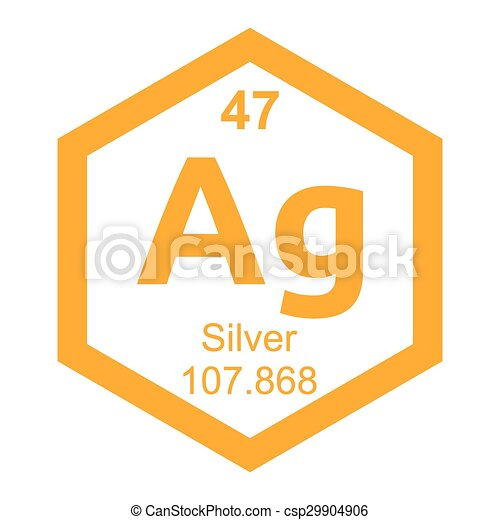 Periodic table silver vector clipart search illustration drawings periodic table silver csp29904906 urtaz Image collections