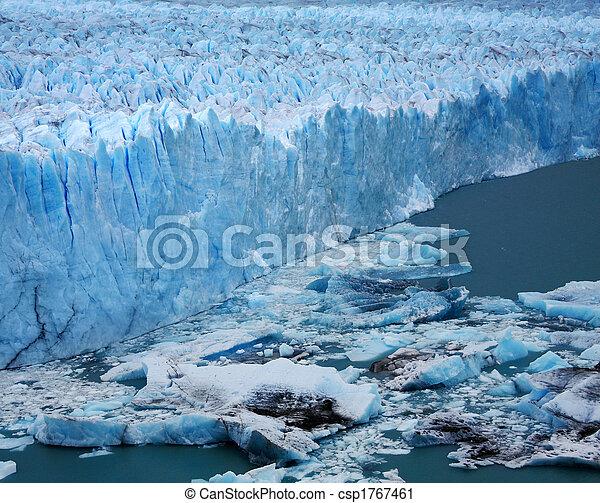 Perito Moreno Glacier, Argentina - csp1767461