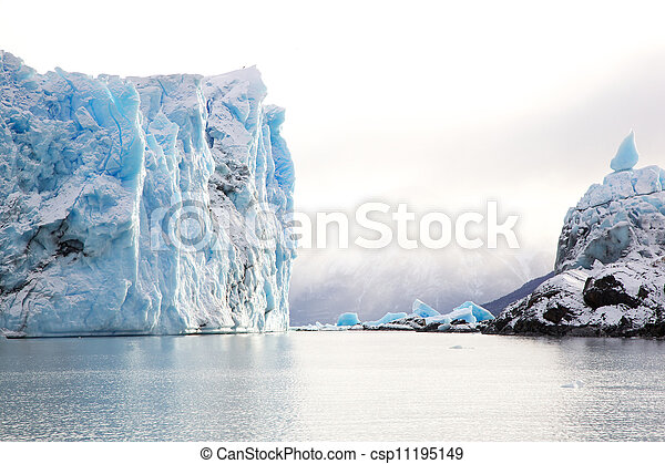 Perito Moreno Glacier, Argentina - csp11195149