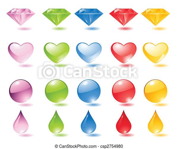 Un icono de perlas - csp2754980