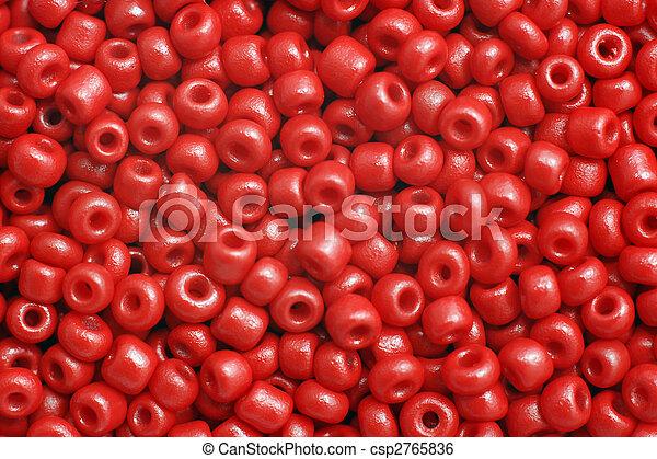 perles, rouges - csp2765836