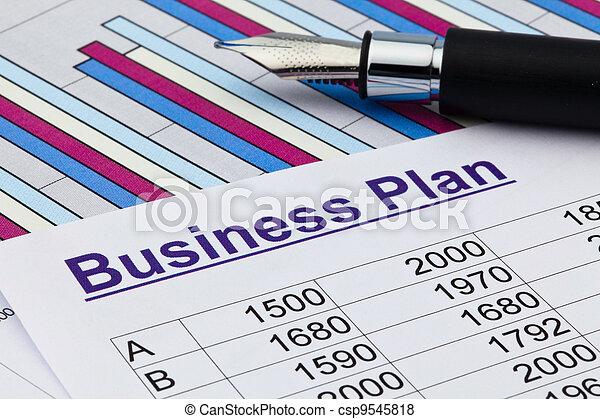 permanent, instelling, plan, zakelijk - csp9545818
