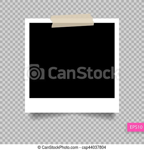 perno cornice foto polaroid nastro appiccicoso sagoma clipart vettoriale cerca. Black Bedroom Furniture Sets. Home Design Ideas
