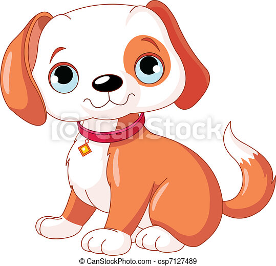 Lindo perrito - csp7127489