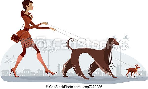 Perros ambulantes - csp7279236