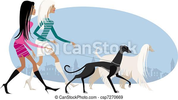 Perros ambulantes - csp7270669