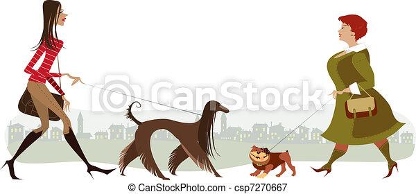 Perros ambulantes - csp7270667