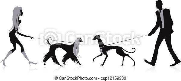 Perros ambulantes - csp12159330