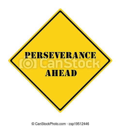 Señal de perseverancia - csp19512446