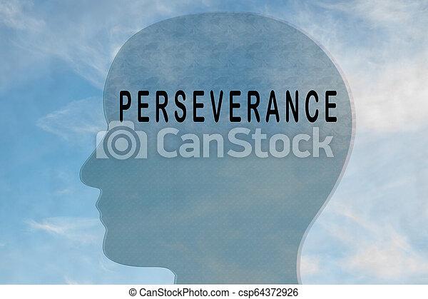Perseverancia - concepto de personalidad - csp64372926