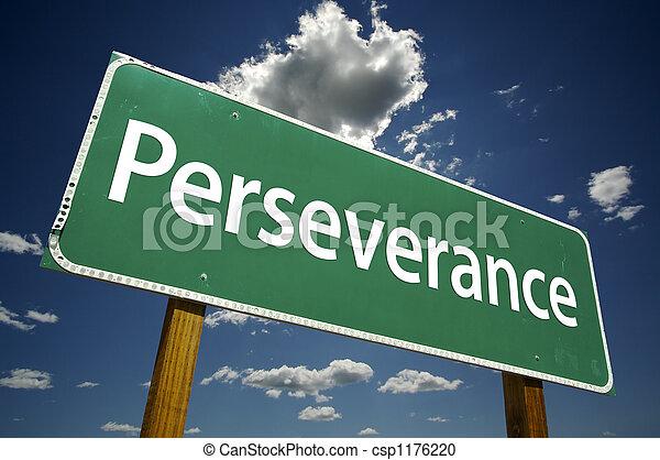Señal de perseverancia - csp1176220