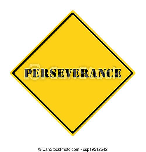 Señal de perseverancia - csp19512542