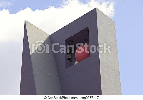 Pershing Square Sculpture - csp9387117