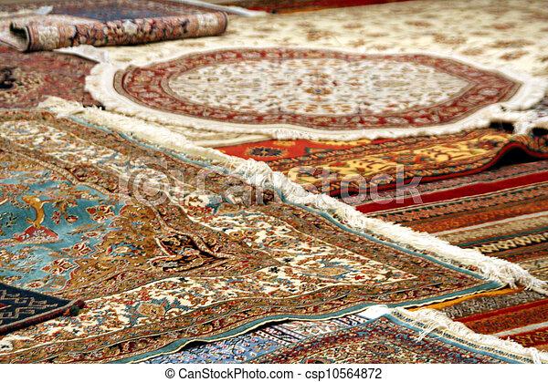 persian carpet - csp10564872