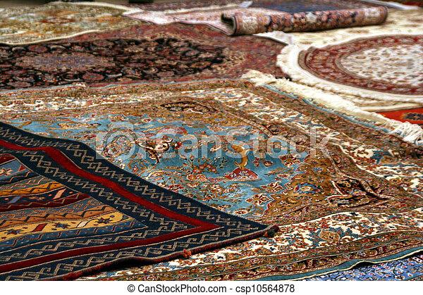 persian carpet - csp10564878