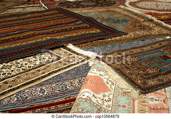 persian carpet - csp10564879