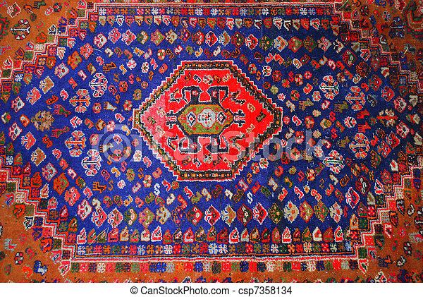 Persian carpet. - csp7358134