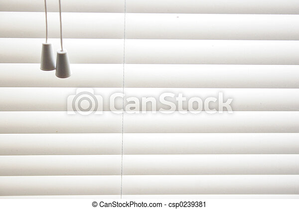 Las persianas venecianas - csp0239381