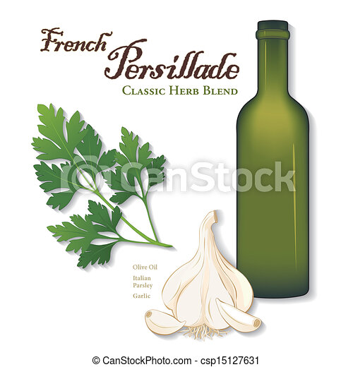 Persillade, French Herb Blend - csp15127631
