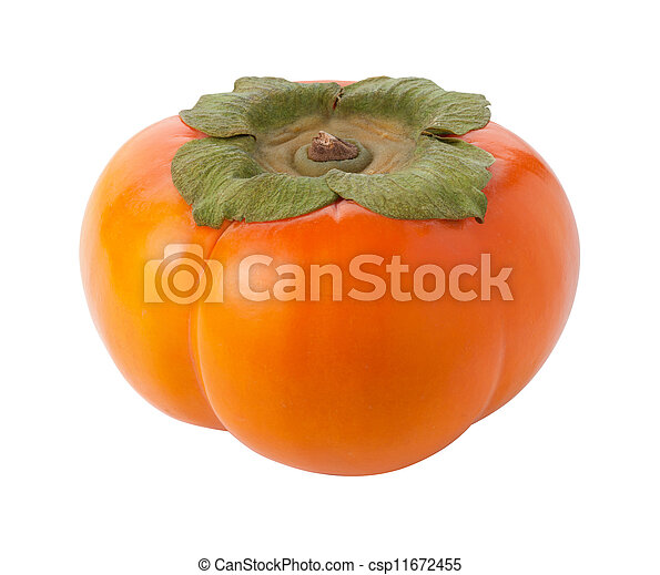 Persimmon Isolated - csp11672455