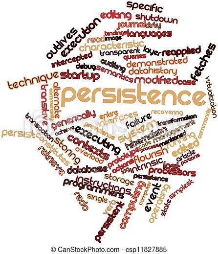 Aaron Halfaker  |Persistence Word