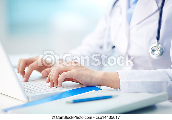 person, medicinsk, typing - csp14435617