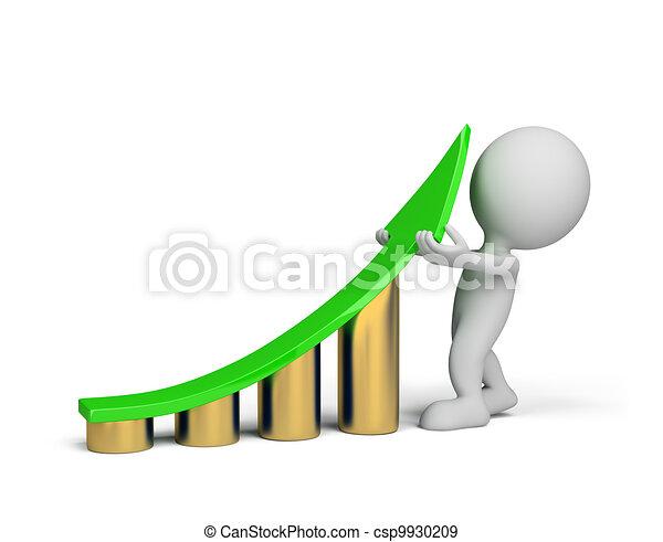 3d Person - Statistik Verbesserung - csp9930209