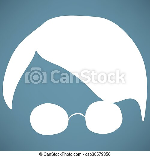 Person with glasses - csp30579356
