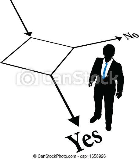 Elige a una persona de negocios - csp11658926