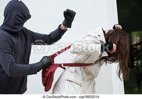 Personal assault - csp18932014