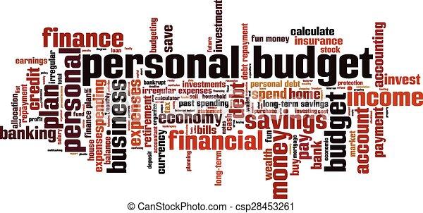 personal budgeting plan