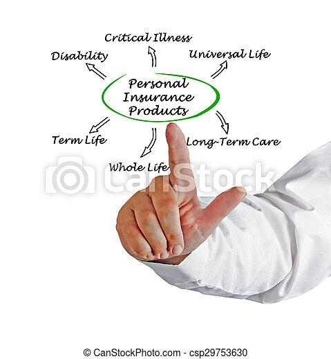 Personal Insurance - csp29753630