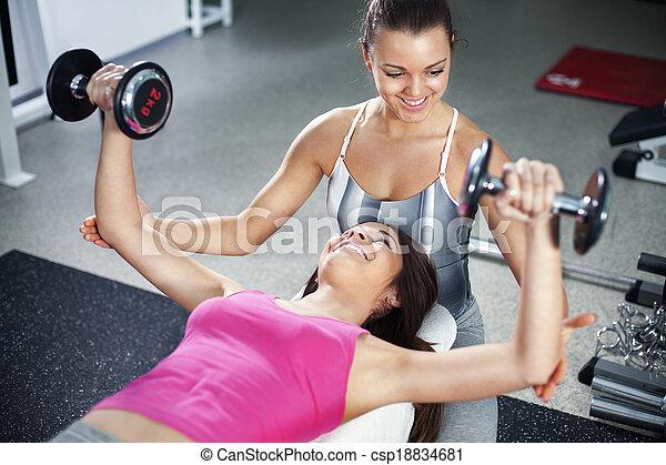 Personal trainer - csp18834681