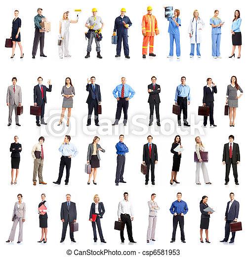 Gente de negocios - csp6581953