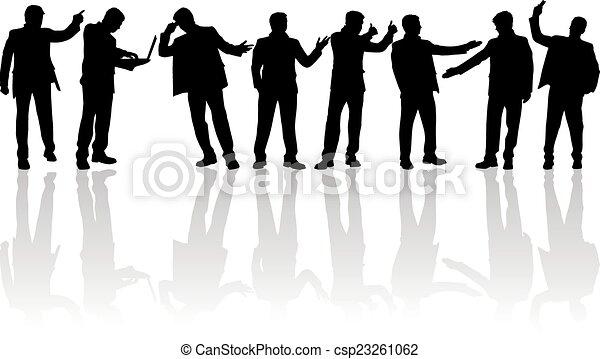 Gente de negocios - csp23261062