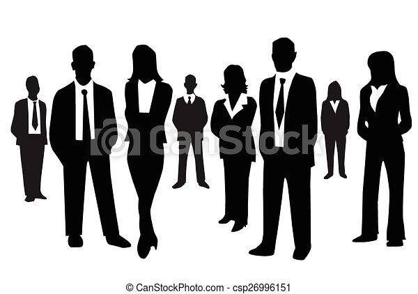 Gente de negocios - csp26996151