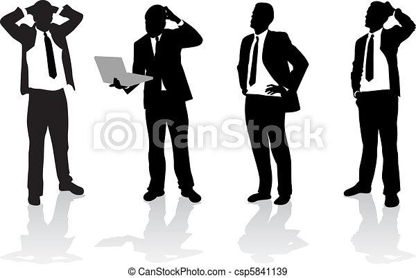 Gente de negocios - csp5841139